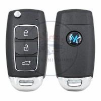 KEYDIY NB series NB28  3 button universal remote control 5pcs/lot  for KD-X2 mini KD
