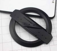 11*9.6cm Matte Black Z Emblem / Decal Replaces OEM 350Z 370Z Grille / Trunk Badge OEM