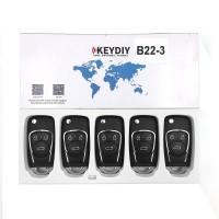 KEYDIY B series B22  3 button universal remote control 5pcs/lot  for KD-X2 mini KD
