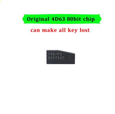 LOCKSMITHOBD Original 4D63 (80BIT) Tranpsonder chip for 2011 Ford/Mazda Free shipping(few instock)