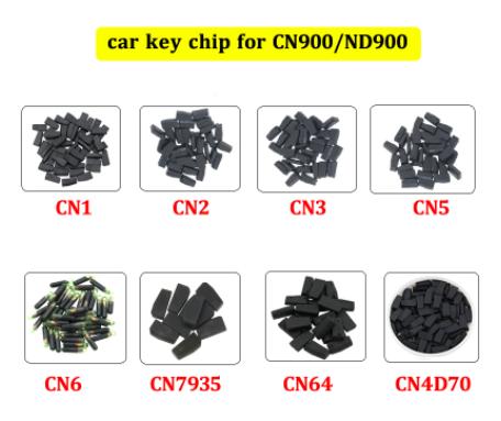 LOCKSMITHOBD OEM CN1 Copy 4C cn2 copy 4d transponder chip YS-01 ys01 repeat clone by CN900 or ND900 20pcs/lot  Free shipping