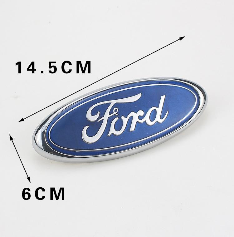 OEM 14.5CM*6CM for FORD car trunk sticker