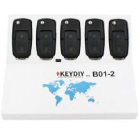 KEYDIY B series B01-2 2 button universal remote control 5pcs/lot for  KD-X2 mini KD
