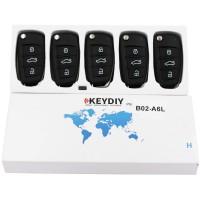 KEYDIY B series B02 3 button universal remote control 5pcs/lot  for KD-X2 mini KD