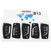 KEYDIY B series B13 3 button universal remote control 5pcs/lot  for KD-X2 mini KD