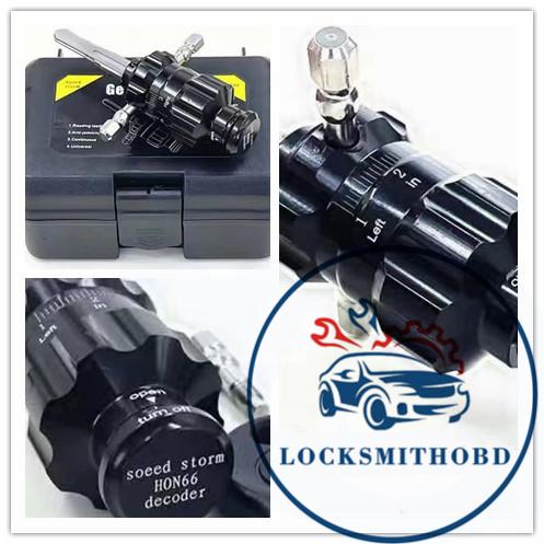 LOCKSMITHOBD 2021 New Arrived Car LOCKPICK Soeed Stom HON66 for vw(PRE-ORDER) free shipping
