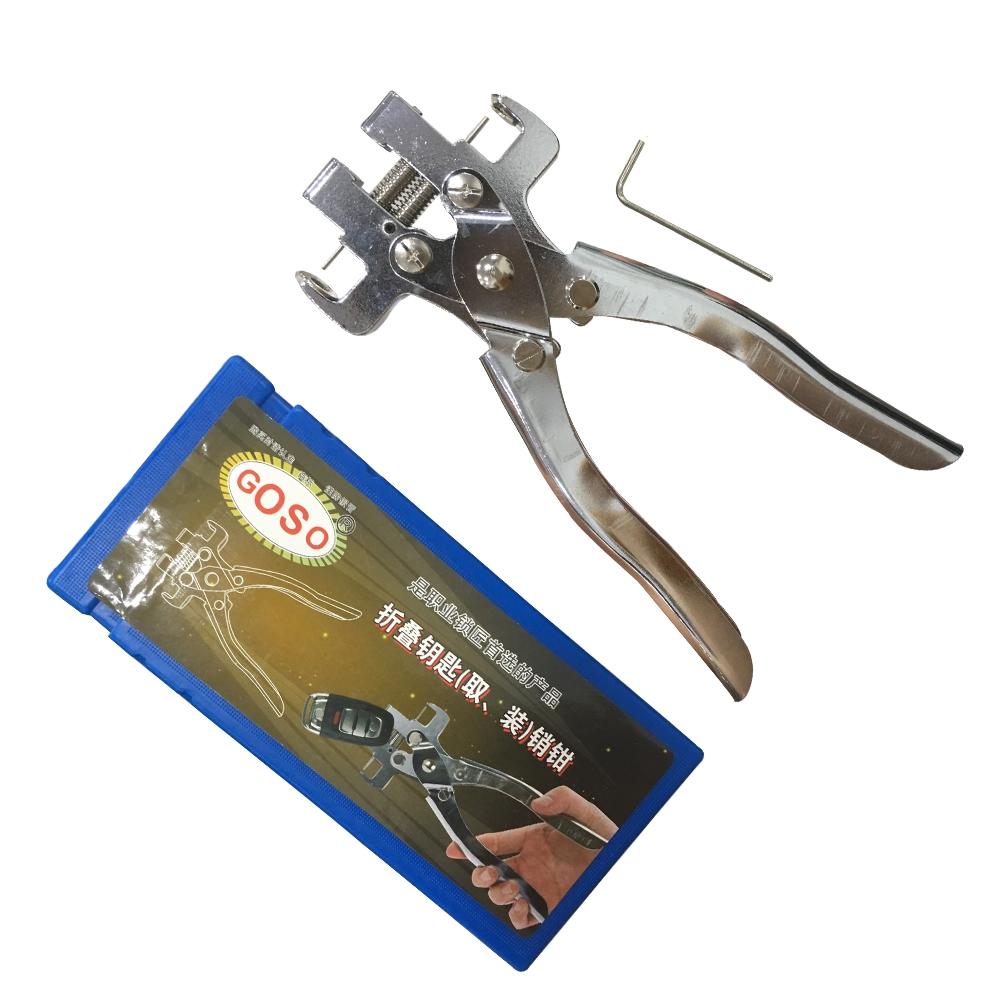 LOCKSMITHOBD GOSO flip key pin remover Cutter for flip remote key Free Shipping by China post