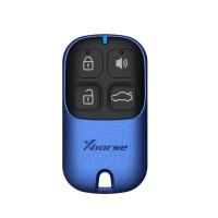 LOCKSMITHOBD 10PCS/LOT XHORSE XKXH01EN Universal Remote Key 4 Buttons for VVDI Key Tool