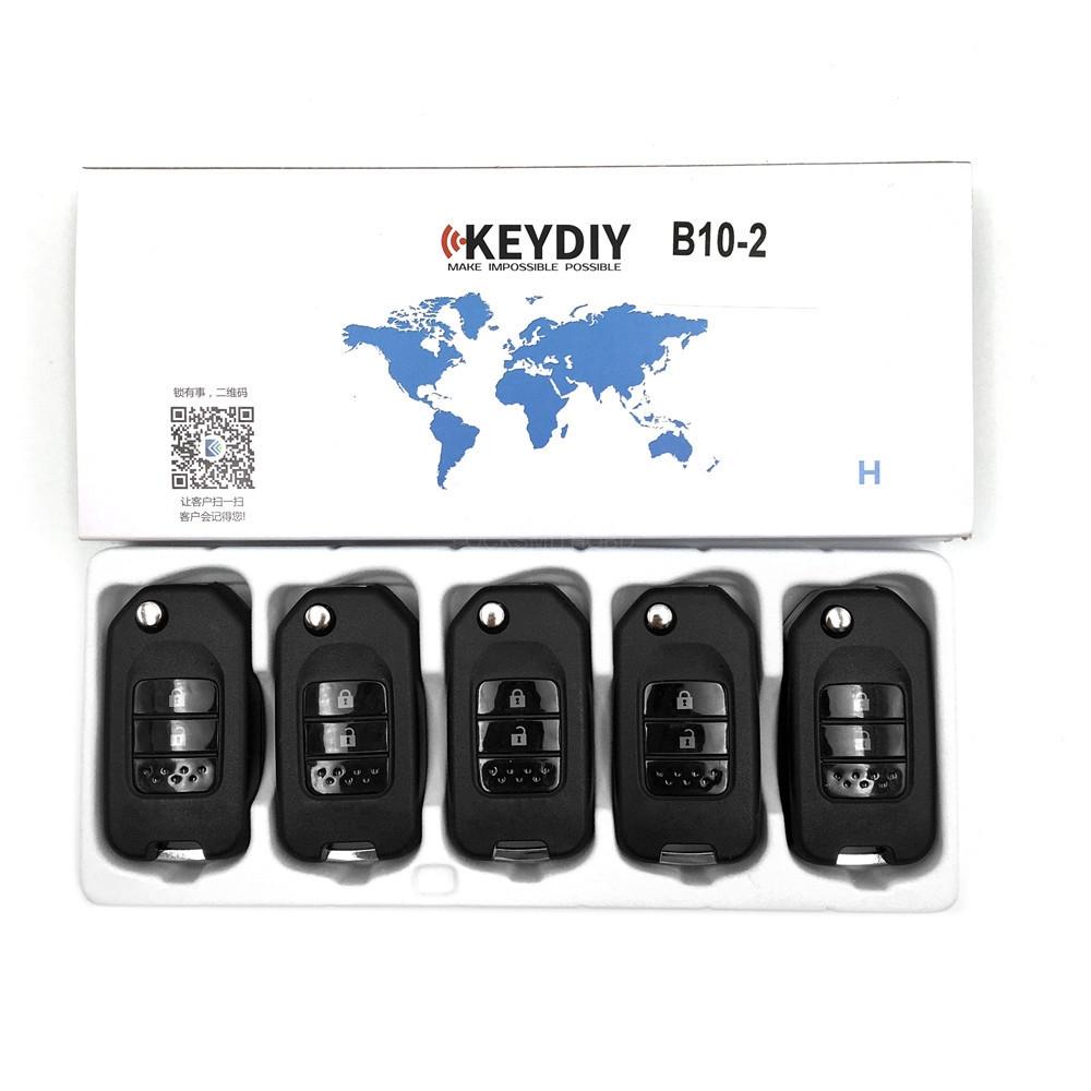 KEYDIY B series B10 2 button universal remote control 5pcs/lot  for KD-X2 mini KD