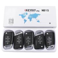 KEYDIY NB series NB15  3 button universal remote control 5pcs/lot  for KD-X2 mini KD