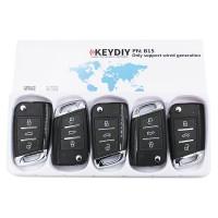 KEYDIY B series B15  3 button universal remote control 5pcs/lot  for KD-X2 mini KD