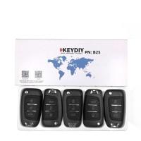 KEYDIY B series B25  4 button universal remote control 5pcs/lot  for KD-X2 mini KD