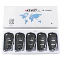 KEYDIY NB series NB11  2 button universal remote control 5pcs/lot  for KD-X2 mini KD