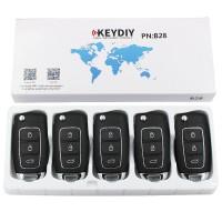 KEYDIY B series B28  3 button universal remote control 5pcs/lot  for KD-X2 mini KD