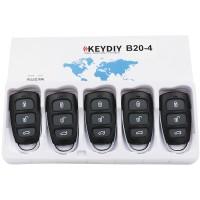 KEYDIY B series B20  4 button universal remote control 5pcs/lot  for KD-X2 mini KD for KIA style