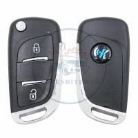 KEYDIY B series B11-2 button universal remote control 5pcs/lot  for KD-X2 mini KD