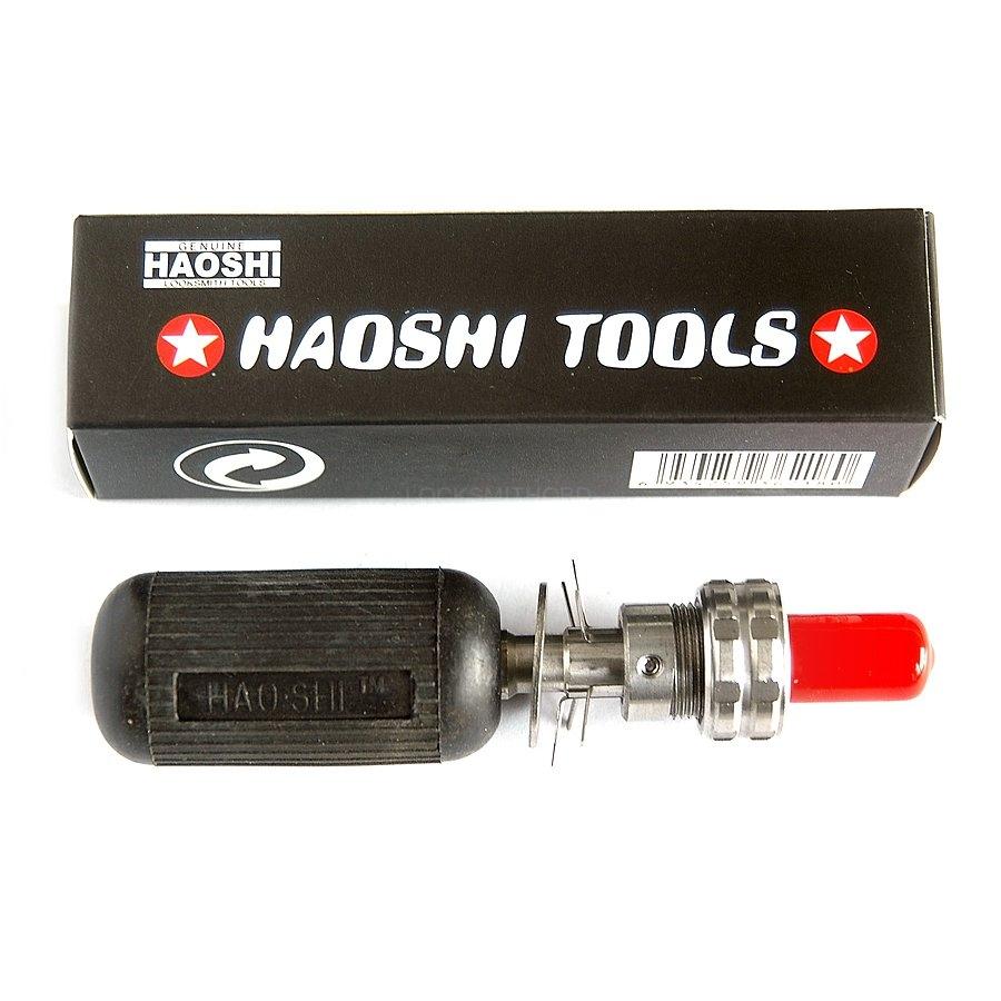 LOCKSMITHOBD Haoshi 7 Pin/8pin/10pin Tubular Adjustable Manipulation Lock Pick