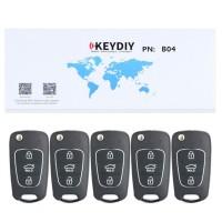 KEYDIY B series B04 3 button universal remote control 5pcs/lot  for KD-X2 mini KD