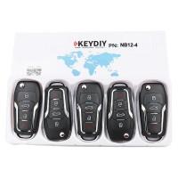 KEYDIY NB series NB12  3+1 button universal remote control 5pcs/lot  for KD-X2 mini KD