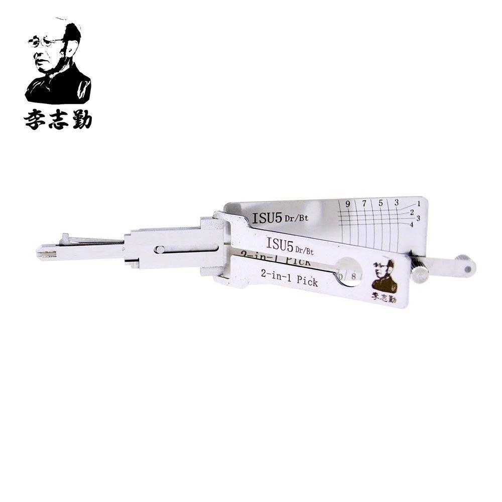 ORIGINAL LISHI ISU5 2-in-1 LockPick And Decoder For KIA free shipping by china post