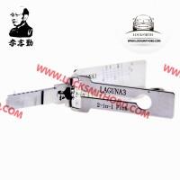 ORIGINAL LISHI LAGUNA3 2-in-1 LockPick And Decoder For LAGUNA  free shipping by china post