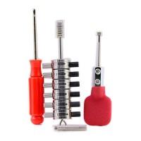 LOCKSMITHOBD HUK Tibbe Decoder full set for Ford Mondeo and Jaguar Lock Plug Reader free shipping by China post