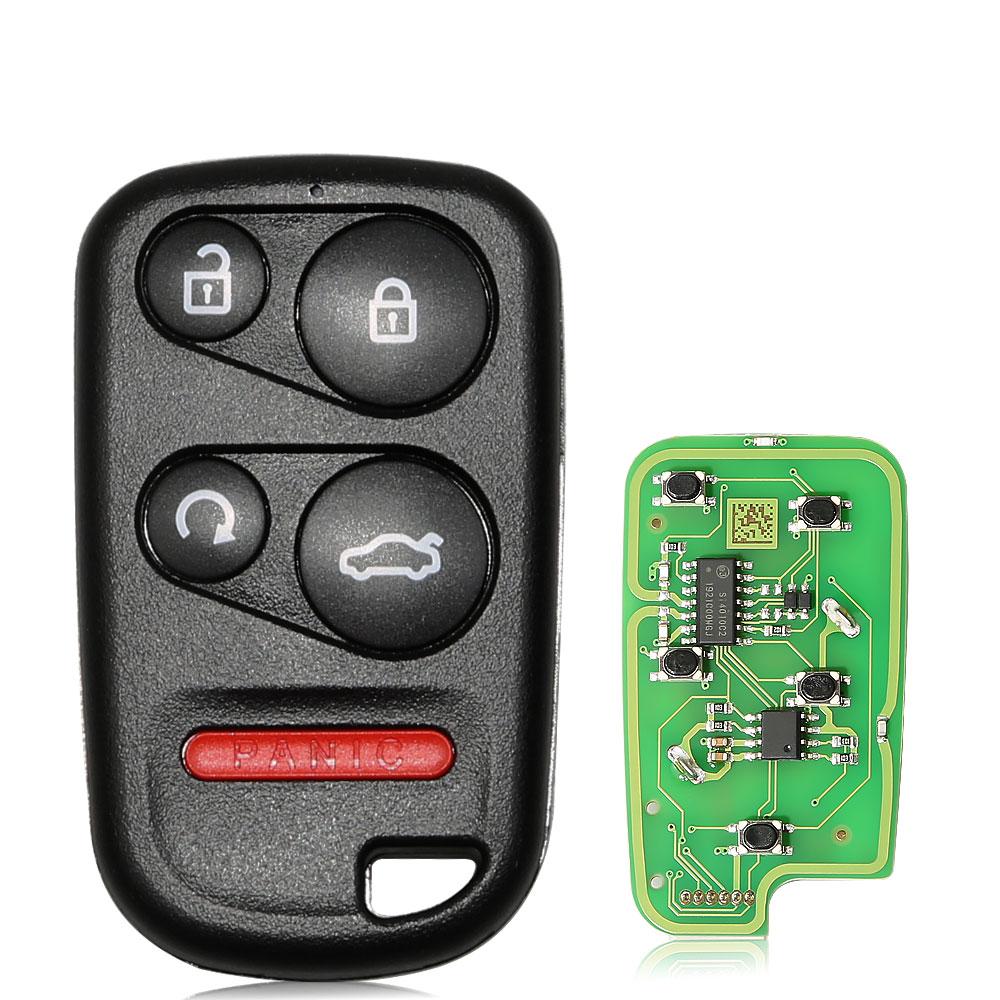 LOCKSMITHOBD 10PCS/LOT XKHO03EN XHORSE Universal Remote Key Fob With Remote Start Button for VVDI Key
