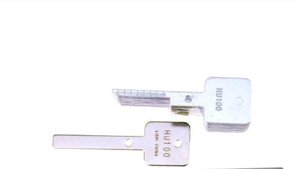 LOCKSMITHOBD Lishi Emergency Key Blade(1 Master Key + 20 Slave Key) Free Shipping by China Post