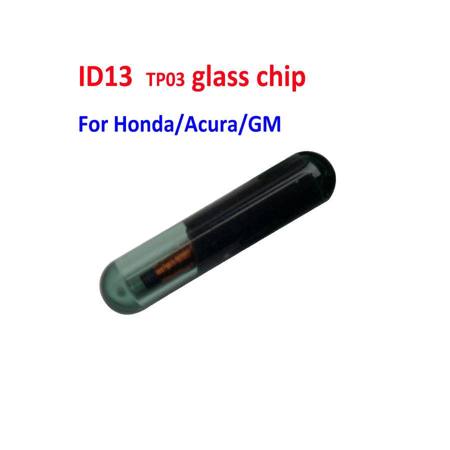 LOCKSMITHOBD ID13 (T2) Glass VAGS Transponder chip used for Honda  Free shipping