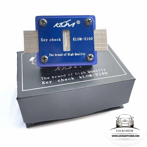 LOCKSMITHOBD KLOM-3100 key check Key Clamp