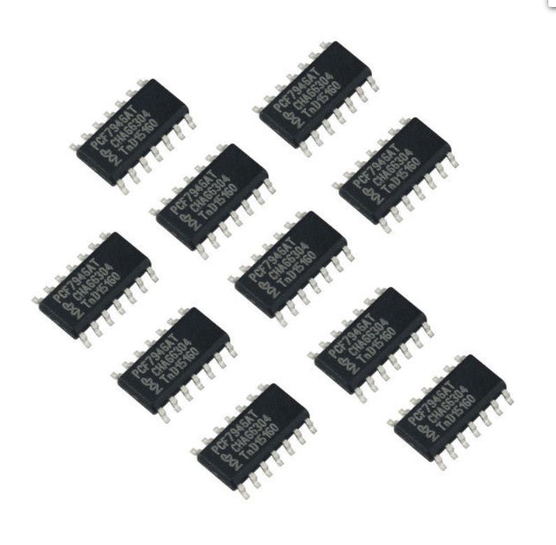 LOCKSMITHOBD Original PCF7946 transponder chip use for renault car transponder chip Free shipping