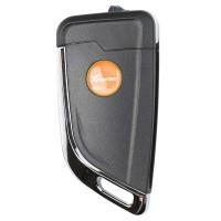 LOCKSMITHOBD 10PCS/LOT Xhorse XKKF21EN VVDI KNIFE Style (Flip-3 Button) Universal Remote Key