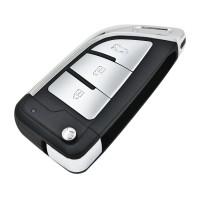 LOCKSMITHOBD 10PCS/LOT ْXhorse XEKF21EN  Universal Super Remote Flip Key 3 Buttons BMW Type