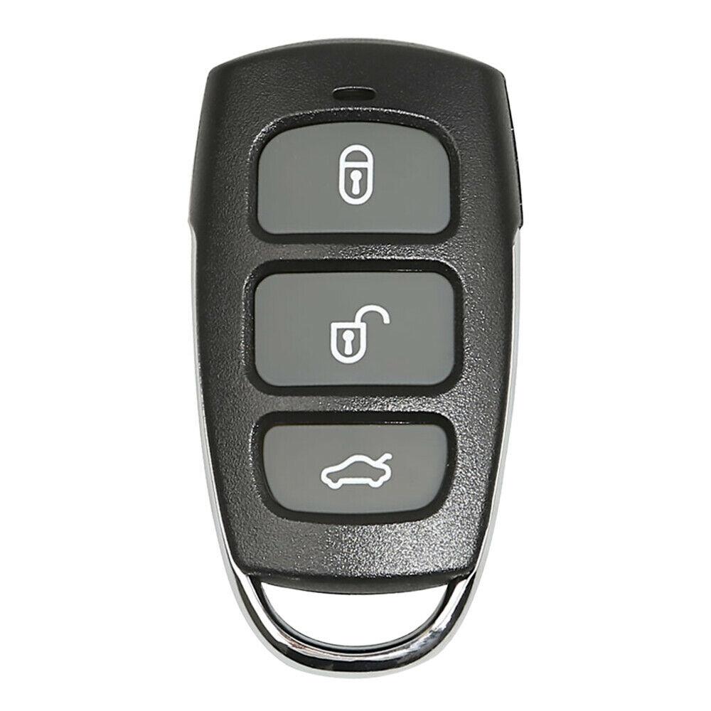 LOCKSMITHOBD 10PCS/LOT Xhorse Universal Wired Remote Key Hyundai Style 4 Button With Panic XKHY04EN