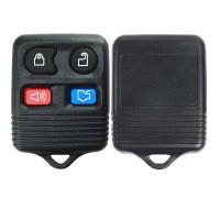 LOCKSMITHOBD 10PCS/LOT Xhorse Universal Wire Remote Key Separate Square Ford Style 4B XKFO02EN