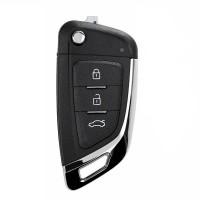 LOCKSMITHOBD 10PCS/LOT XHORSE XKKF03EN Universal Remote Key Fob K-nife Style for VVDI2 VVDI Key Tool