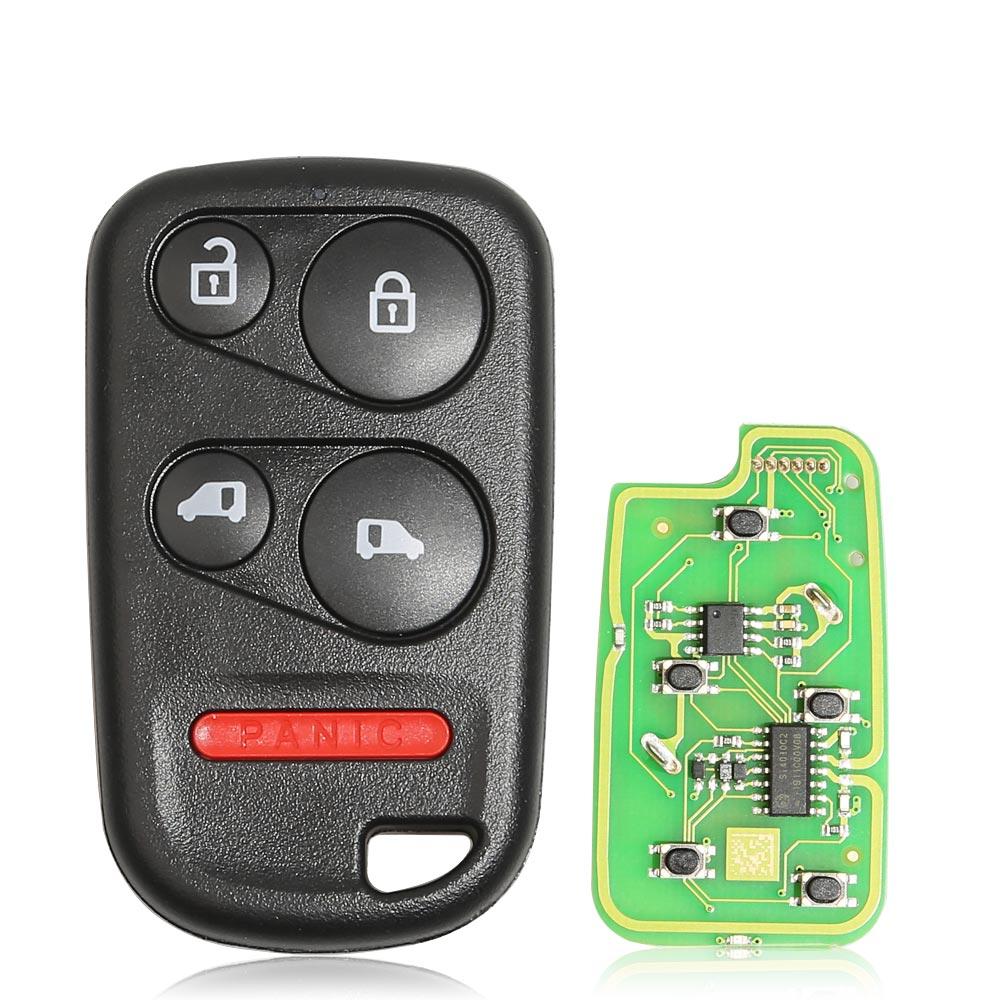 LOCKSMITHOBD 10PCS/LOT XKHO04EN XHORSE Universal Remote Key Fob With Remote Start Button for VVDI Key